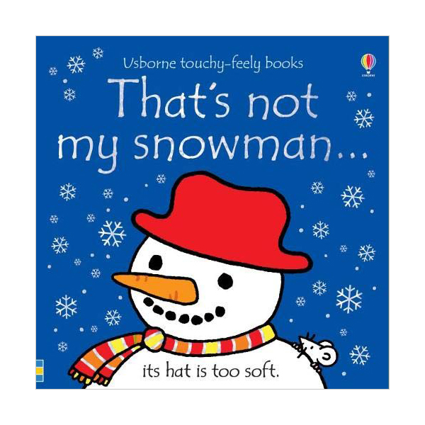 Touchy Feely Books : That's not my snowman... (Board book, 영국판)