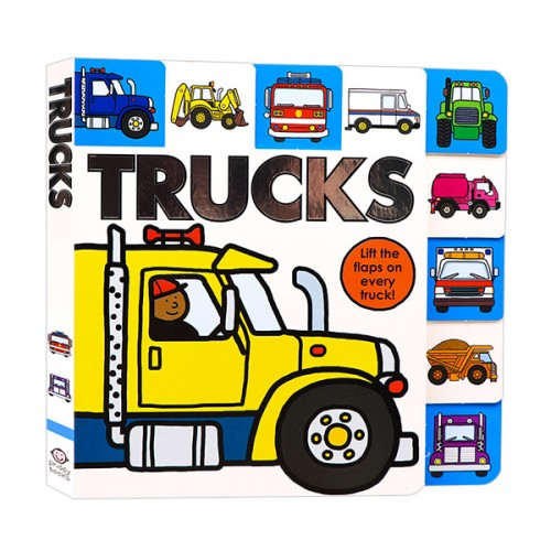 Trucks : Lift The Flap Book (Board Book)