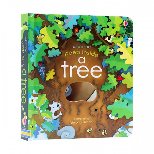 Usborne Peep Inside : a Tree (Board book, 영국판)