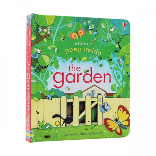Usborne Peep Inside : the Garden (Board book, 영국판)