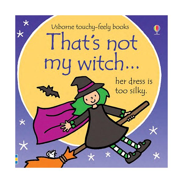 Usborne Touchy-Feely Books: That's not my witch... (Board book, 영국판)