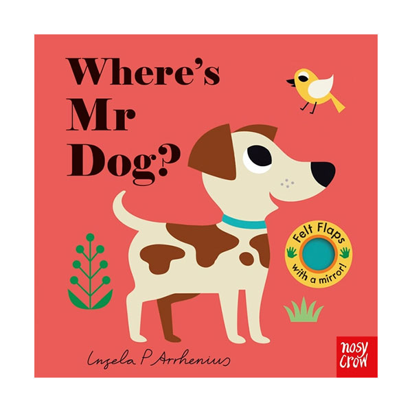 Where's Mr Dog? : Felt Flap Book (Board Book, 영국판)