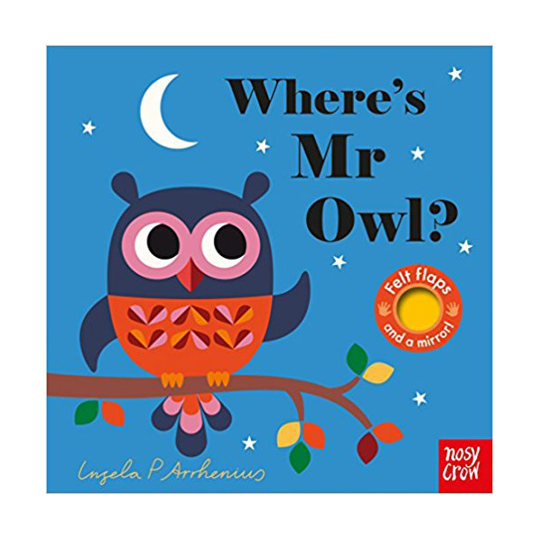 Where's Mr Owl? : Felt Flap Book (Board book, 영국판)