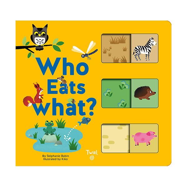 Who Eats What? (Board book)