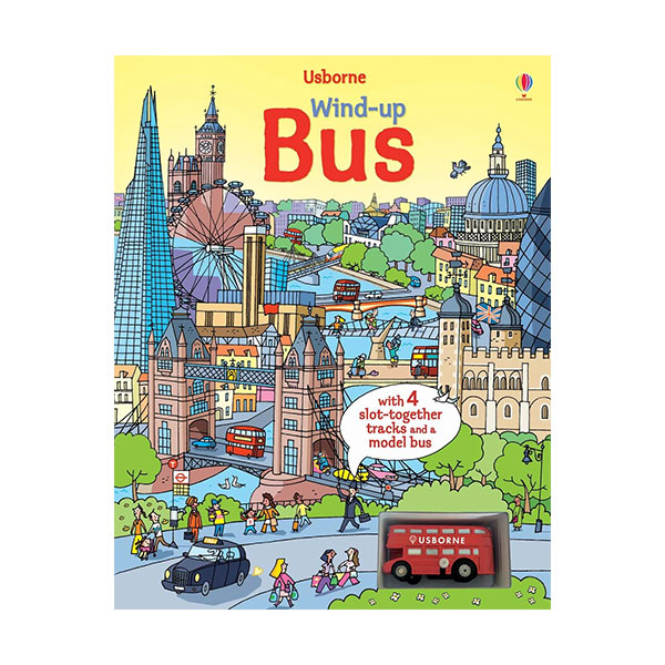Wind-up Bus (Board book)