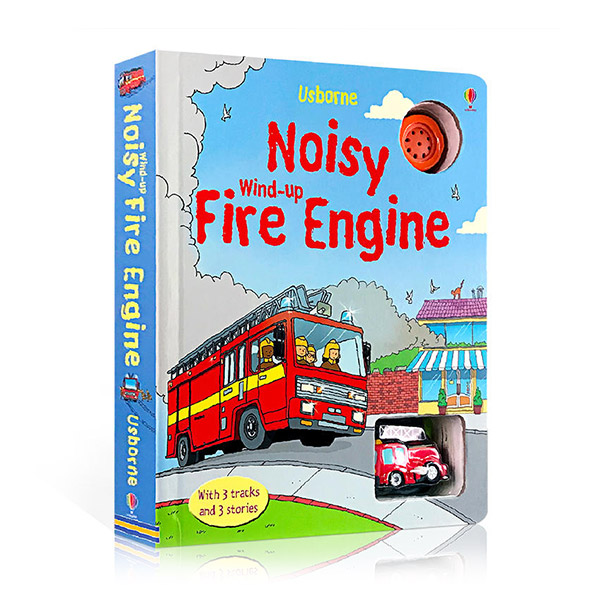 Wind-up Fire Engine (Board Book)