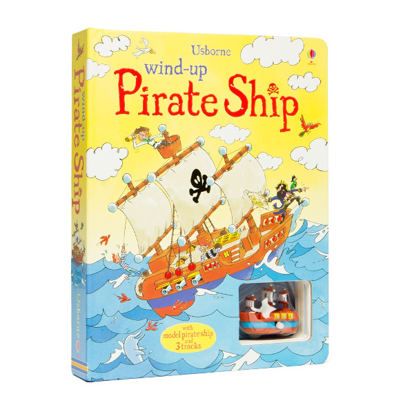 Wind-up Pirate Ship (Board Book)