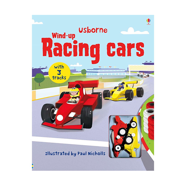 Wind-up Racing Cars (Board book)
