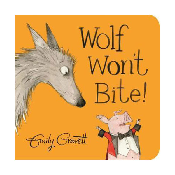 Wolf Won't Bite! (Board book, 영국판)