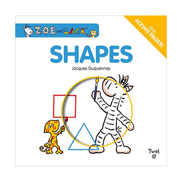 Zoe and Zack : Shapes (Board Book)