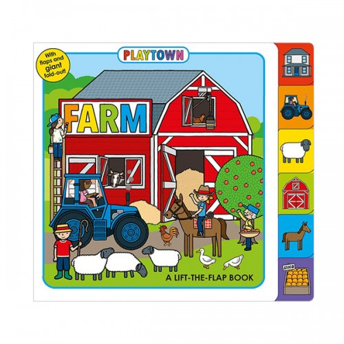 Playtown : Farm (Board book)