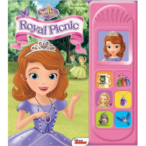 [Pi] Sofia The First : Royal Picnic (Board Book)