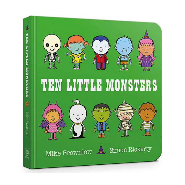 Ten Little Monsters (Board Book, 영국판)