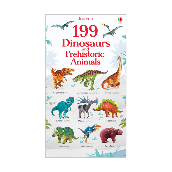 199 Dinosaurs and Prehistoric Animals  (Board book, 영국판)