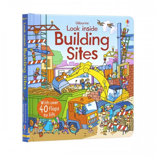 Look Inside : a Building Site (Board book, 영국판)