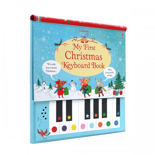 My First Christmas Keyboard Book (Hardcover, Sound Book, 영국판)