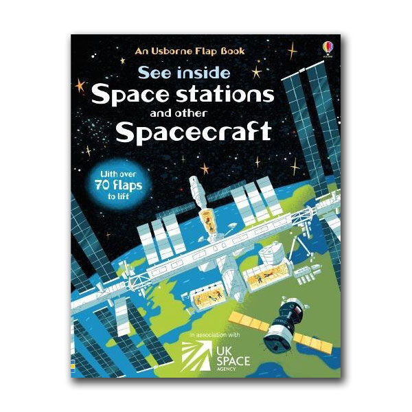 See Inside : Space Stations and Other Spacecraft (Board book, 영국판)