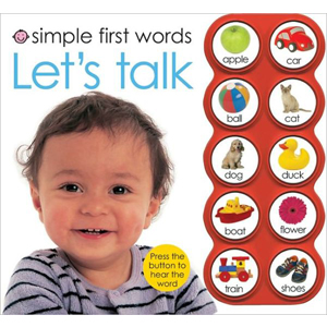 Simple First Words: Let's Talk (Board book,Sound book)