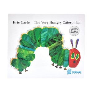 The Very Hungry Caterpillar : Eric Carle Book & CD (Board Book+CD)