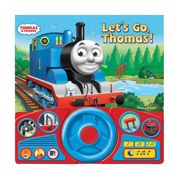 Thomas & Friends : Let's Go Thomas (Board book, Sound Book)