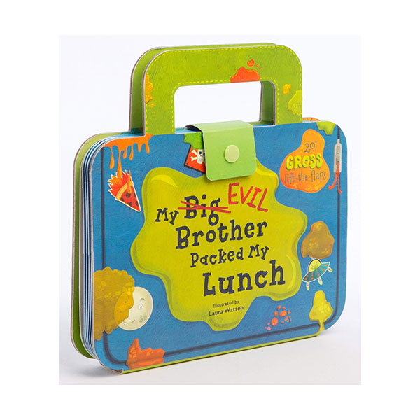 My Big Evil Brother Packed My Lunch (Board book)