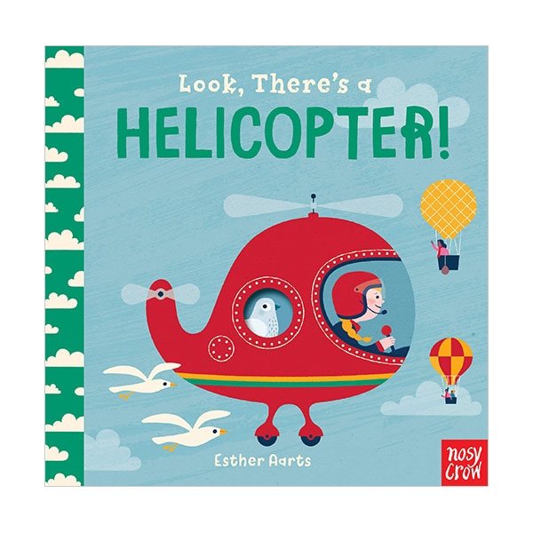 Look, There's a Helicopter! (Board book)