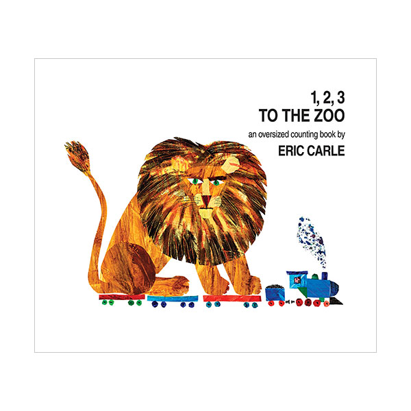 1, 2, 3 to the Zoo : An Oversized Counting Book (Board book)