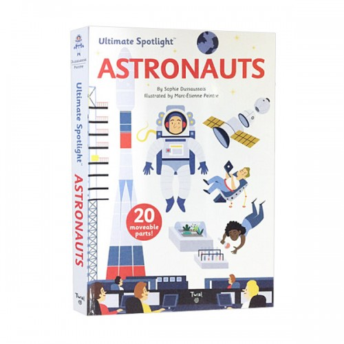 Ultimate Spotlight : Astronauts (Hardcover)