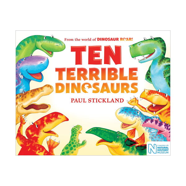 Dinosaur Roar : Ten Terrible Dinosaurs (Paperback, 영국판)