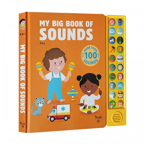 My Big Book of Sounds (Board book)