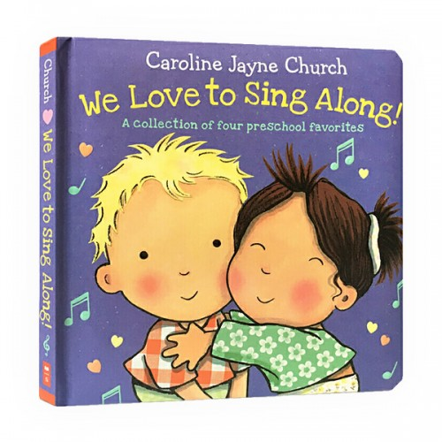 [★LOVE★] We Love to Sing Along! : A Collection of four preschool favorites (Padded Board book)