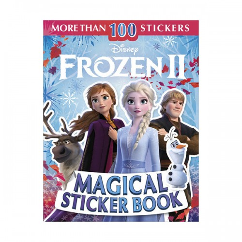 ★키즈코믹콘★Ultimate Sticker Book : Disney Frozen 2 Magical Sticker Book (Paperback)