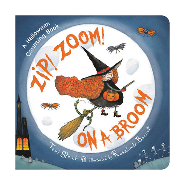 Zip! Zoom! On a Broom (Board book)