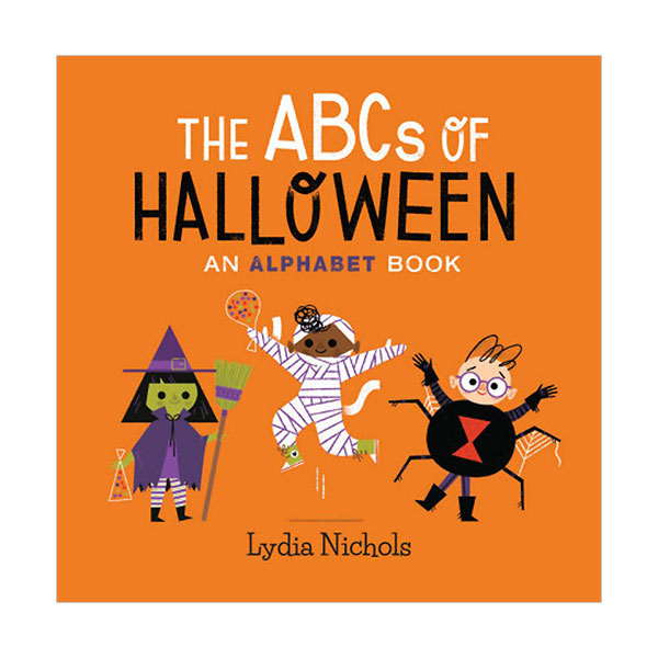 The ABCs of Halloween (Board book)