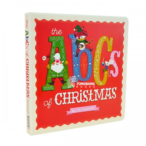 The ABCs of Christmas (Board book)
