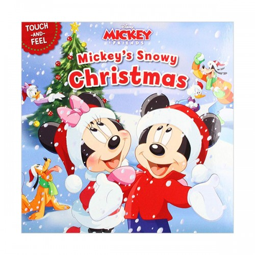 Disney Mickey & Friends : Mickeys Snowy Christmas (Board book)