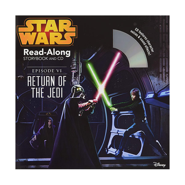 Read-Along : Star Wars : Return of the Jedi (Book & CD)
