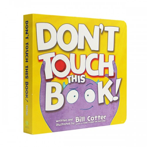 Don't Touch This Book (Board book)