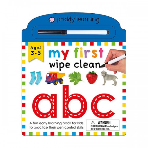 My First Wipe Clean : ABC (Board book)