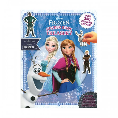 Sticker Book Treasury : Disney Frozen (Paperback)