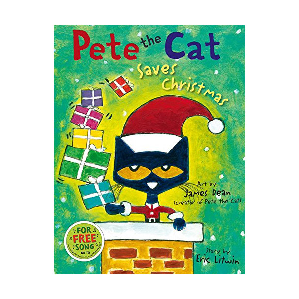 Pete the Cat : Saves Christmas (Paperback, 영국판)