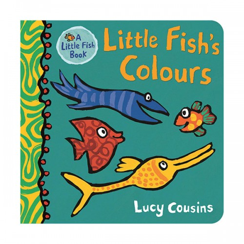 Little Fish's Colours (Board book, 영국판)