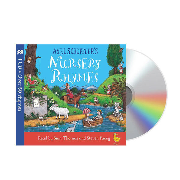Axel Scheffler's Nursery Rhymes (Audio CD)(도서미포함)