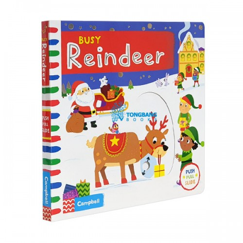 Busy Books Series : Busy Reindeer (Board book, 영국판)