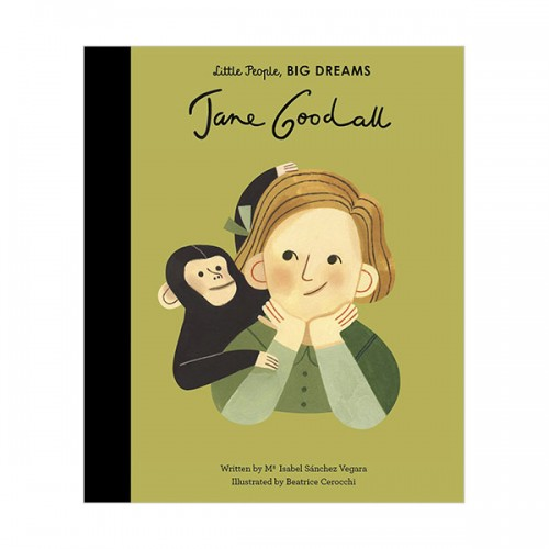 Little People, Big Dreams : Jane Goodall (Hardcover, 영국판)