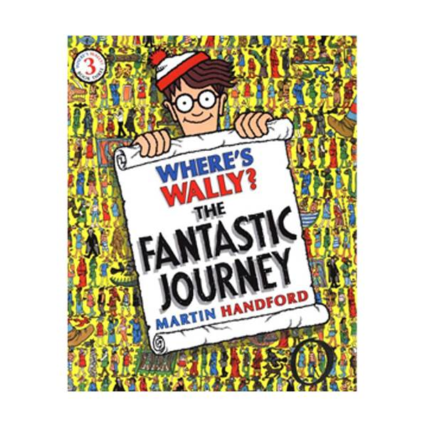 Where's Wally? #3 : The Fantastic Journey (Paperback)