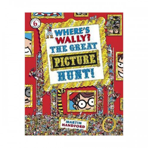 Where's Wally? #6 : The Great Picture Hunt (Paperback)