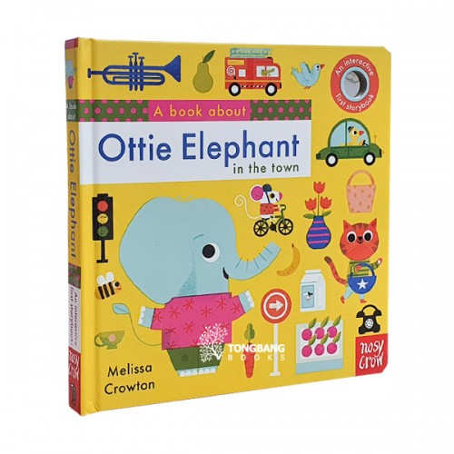 A Book About Ottie Elephant in the Town (Board book, 영국판)