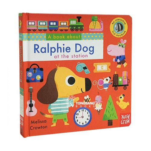 A Book About Ralphie Dog (Board book, 영국판)