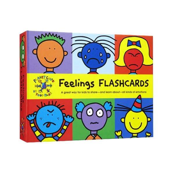 Todd Parr Feelings Flash Cards (Cards)